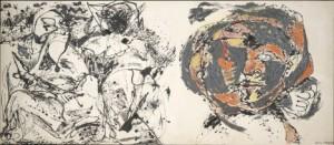 Jackson Pollock solía utilizar su propia pintura, elaborada por él mismo