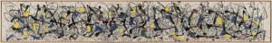 Jackson Pollock hizo del action painting y del drip painting dos estilos necesarios para definir la experiencia visual/ Photo Credits: Summertime: Number 9A, 1948