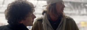 Jesse Eisenberg y Jason Segel (derecha), en el filme
