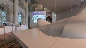 Zaha Hadid ha participado en el montaje de la exhibición/ Photo Credits: Zaha Hadid y El Museo del Hermitage