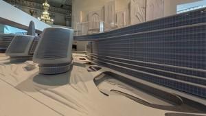 Las creaciones de Zaha Hadid se expresan a través de gesticulantes curvaturas/ Photo Credits: Zaha Hadid y El Museo del Hermitage