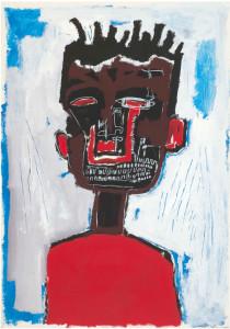 Los autorretratos de Jean-Michel Basquiat tienen un componente ancestral/ Photo Credits: Autorretrato, 1984, Yoav Harlap Collection, Estate of Jean-Michel Basquiat Licensed by Artestar, Nueva York