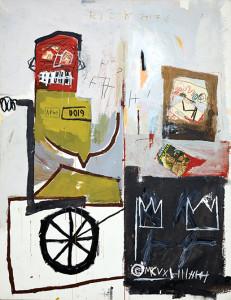 Jean-Michel Basquiat encadenó su visión artística al pulso activo de Nueva York/ Photo Credis: Número 4, Foto de Jason Wyche, Colección de Andre Sakhai