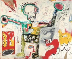 Las pinturas y dibujos de Jean-Michel Basquiat elaboran un particular aquelarre de formas y discursos/ Photo Credits: Sin título, Museum Bojimans van Beuningen, Róterdam, Foto de Studio Tromp, en Róterdam