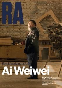 Ai Weiwei escoge un conjunto de sus obras más reivindicativas en la Royal Academy of Arts
