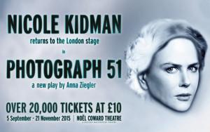 "Nicole Kidman es Rosalind Franklin en ""Photograph 51"""