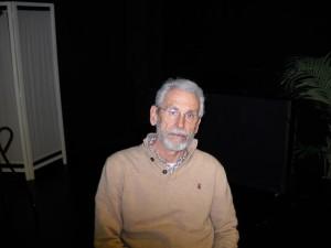 Juan Pastor, en el interior de Teatro Gundalera