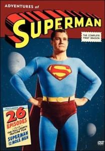 George Reeves (en la foto) se convirtió en toda una celebridad con su interpretación del coloso llegado de Krypton
