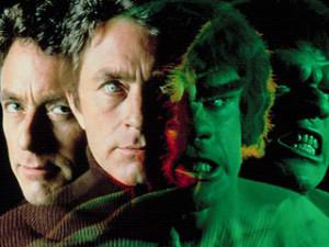 Bill Bixby y Lou Ferrigno (en la foto) dieron el mayor éxito televisivo a Marvel