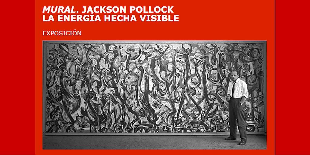 El Museo Picasso de Málaga muestra los trabajos de restauración llevado a cabo en la titánica pintura de Pollock