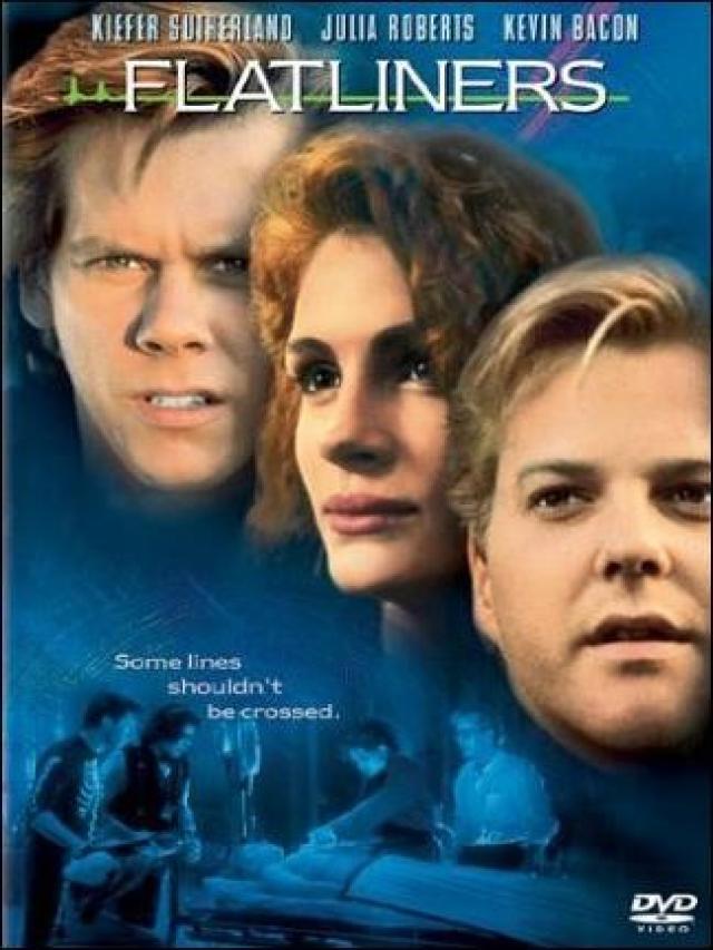 Kiefer Sutherland (el rostro de abajo) es el único que repite del reparto original de 1990