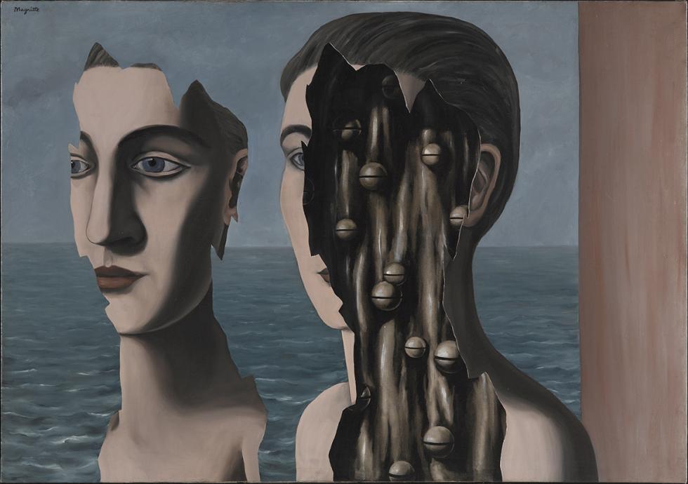 Magritte descompuso las imágenes para localizar la esencia de las mismas/ Foto: Centre Georges Pompidou