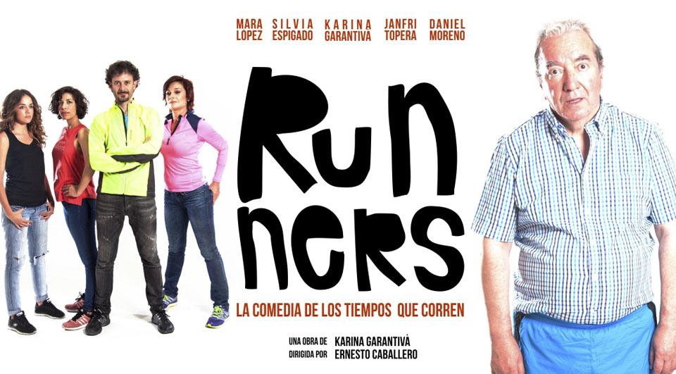 """Janfri Topera estará en los Teatros Luchana de Madrid hasta el 30 de octubre, con """"Runners"""""""