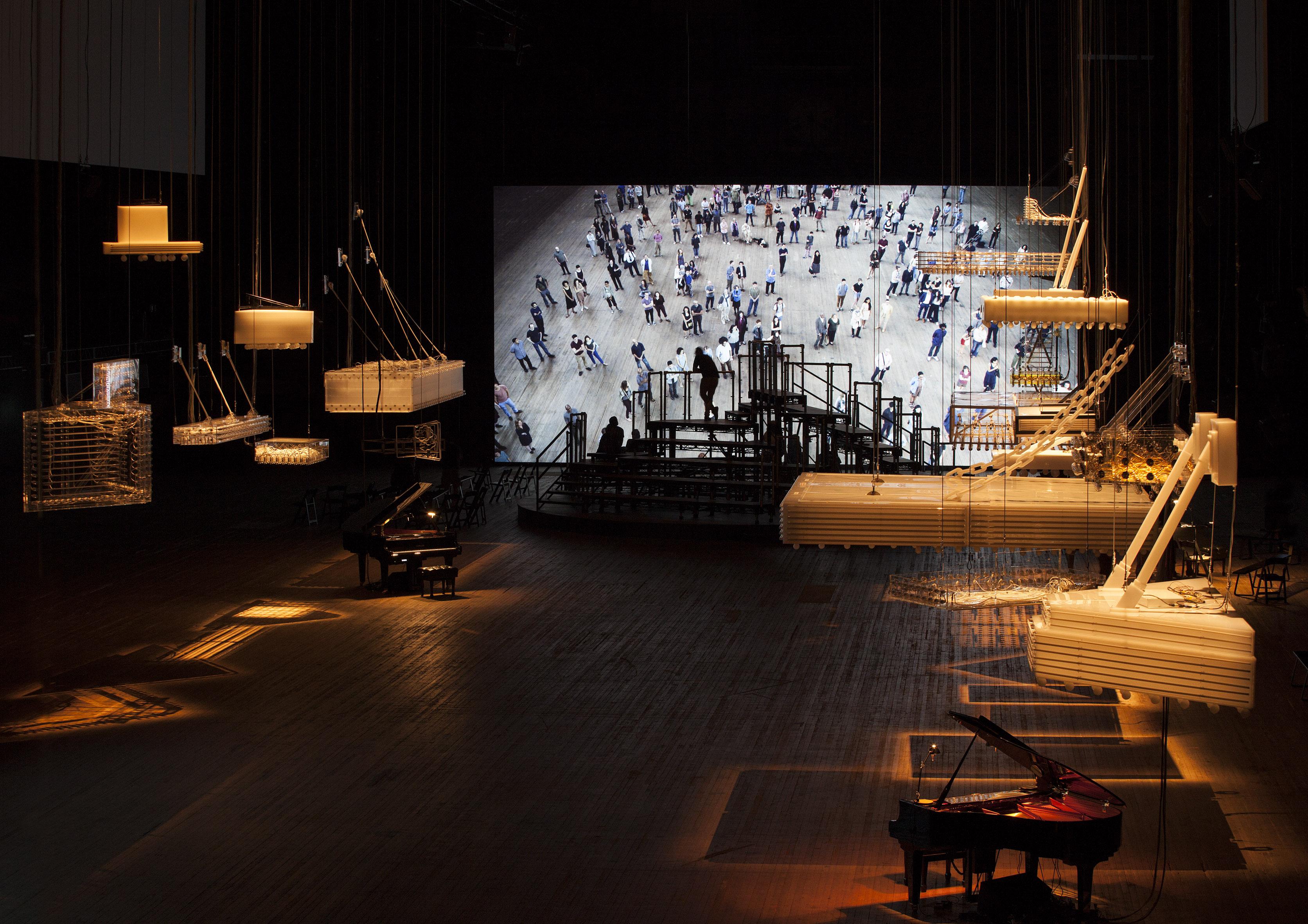 Philippe Parreno es autor de trabajos en los que le gusta amplificar el mensaje con el uso de técnicas diversas/ Foto: Tate Modern