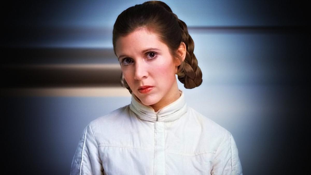 """Carrie Fisher estuvo siempre perseguida por el éxito de su personaje en """"Star Wars"""""""