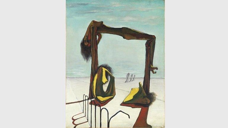 """El Surrealismo de """"Art et Liberté"""" adquirió un sentido reivindicativo del que carecían muchos de los surrealistas europeos/ Foto: Ramses Youane, 1939. Museo Nacional Centro de Arte Reina Sofía"""
