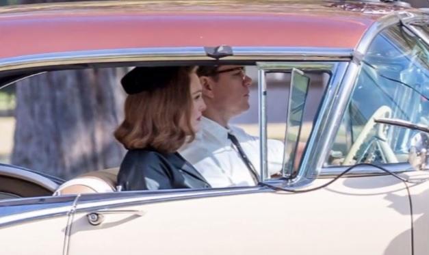 George Clooney está rodando en las calles de Los Ángeles