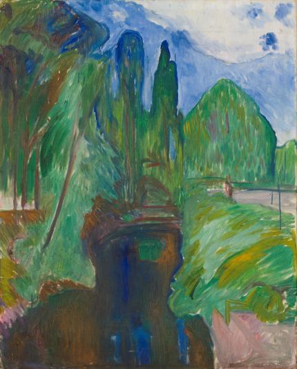Edvard Munch es mucho más que sus imágenes de angustia existencial/ Foto: Munch Museum