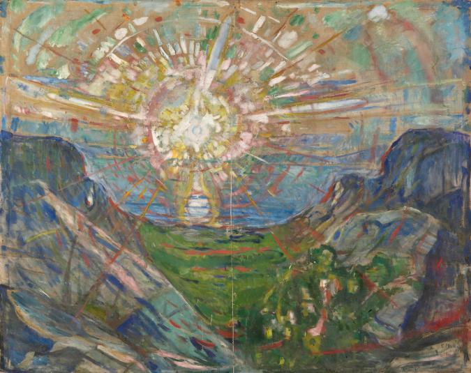 Edvard Munch fue capaz de acercarse a luminosos paisajes a lo largo de su trayectoria/ Foto: Munch Museum