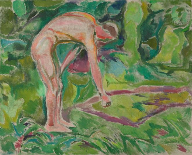 Edvard Munch nunca ocultó la influencia que ejerció Gauguin en su pintura/ Foto: Museo Munch