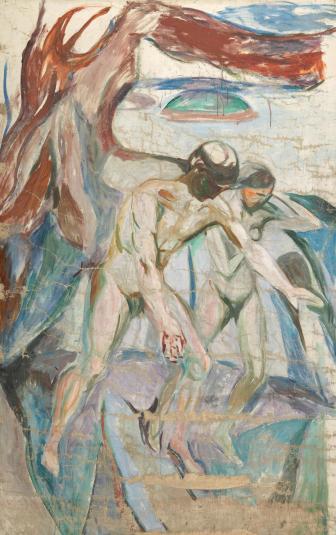 Edvard Munch también supo refugiarse en el hedonismo/ Foto: Museo Munch
