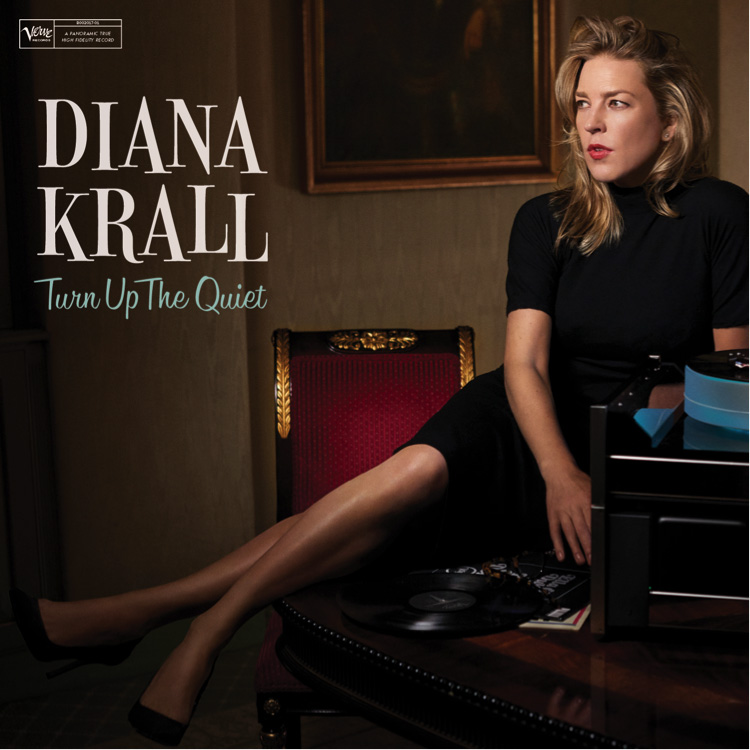 "Diana Krall echa mano de sus arreglos estilíscos en ""Turn Up The Quiet"""