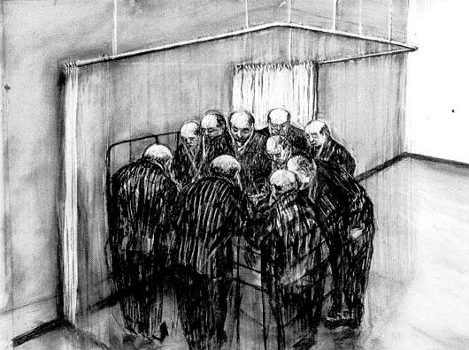 William Kentridge suele jugar con la asfixia existencial