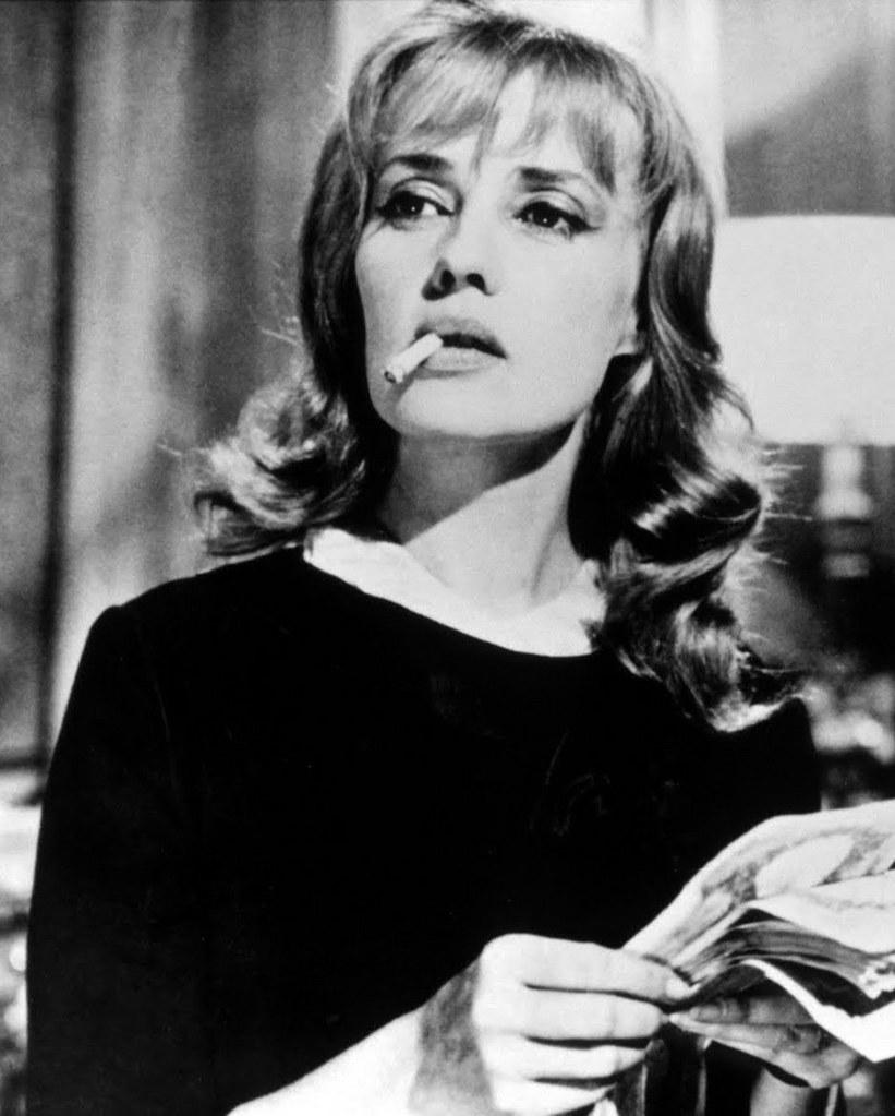 Jeanne Moreau (en la imagen) siempre destacó por la energía con la afrontaba todos sus trabajos