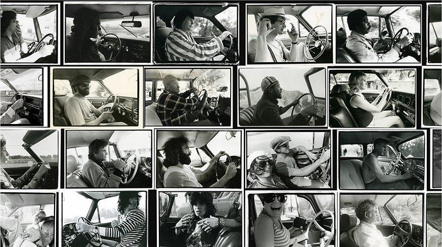 """Annie Leibovitz llamó la atención de Rolling Stone por su incomparable ojo para captar el interior de las personas a las que retrataba/ Foto: """"Driving Series"""", de Annie Leibovitz, LUMA Foundation"""