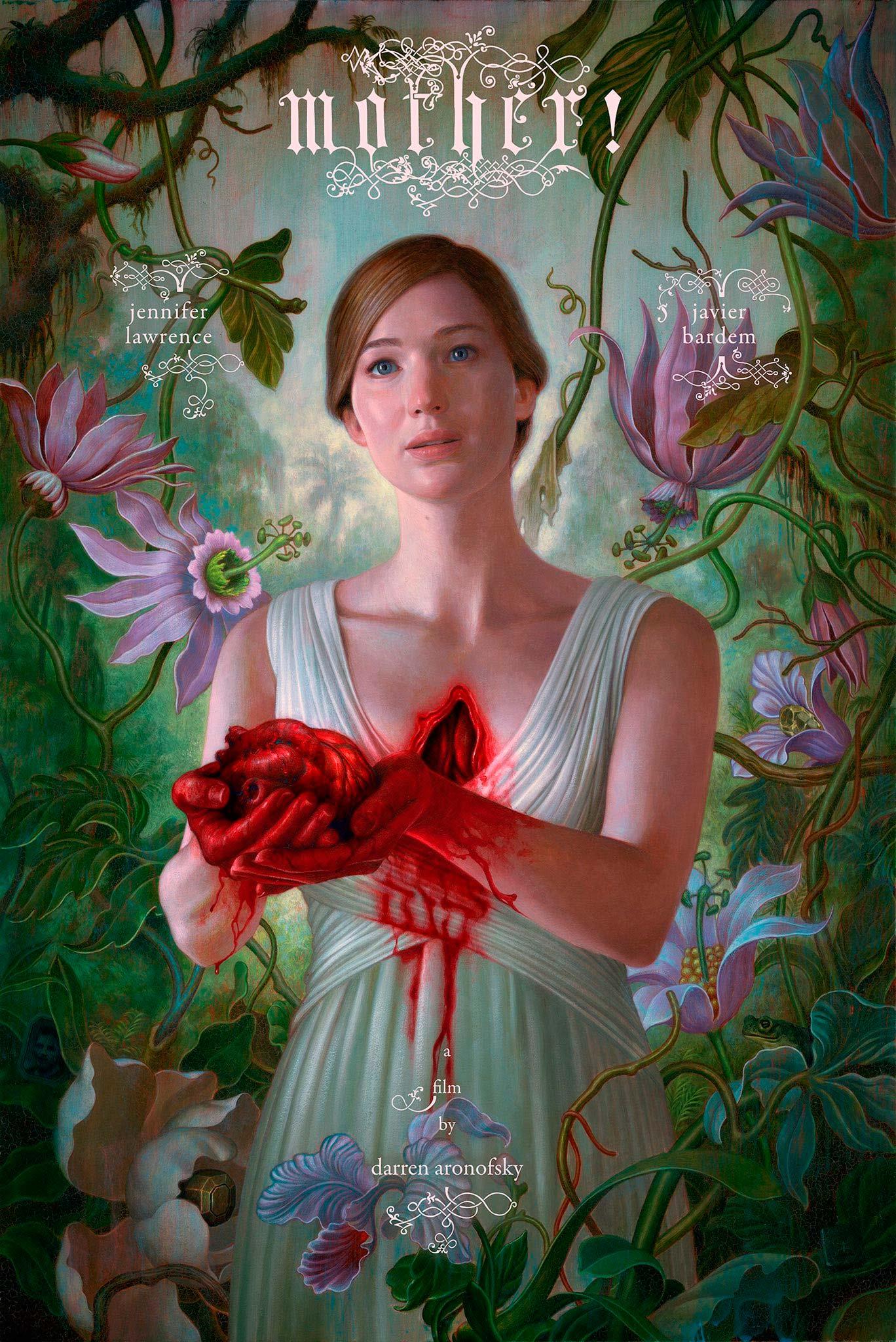 Jennifer Lawrence somete su poso dramático para hacer creíble el argumento de ¡Madre!