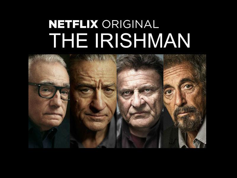 """Martin Scorsese ha reunido a parte del equipo de """"Uno de los nuestros"""", a los que suma la presencia de Al Pacino"""