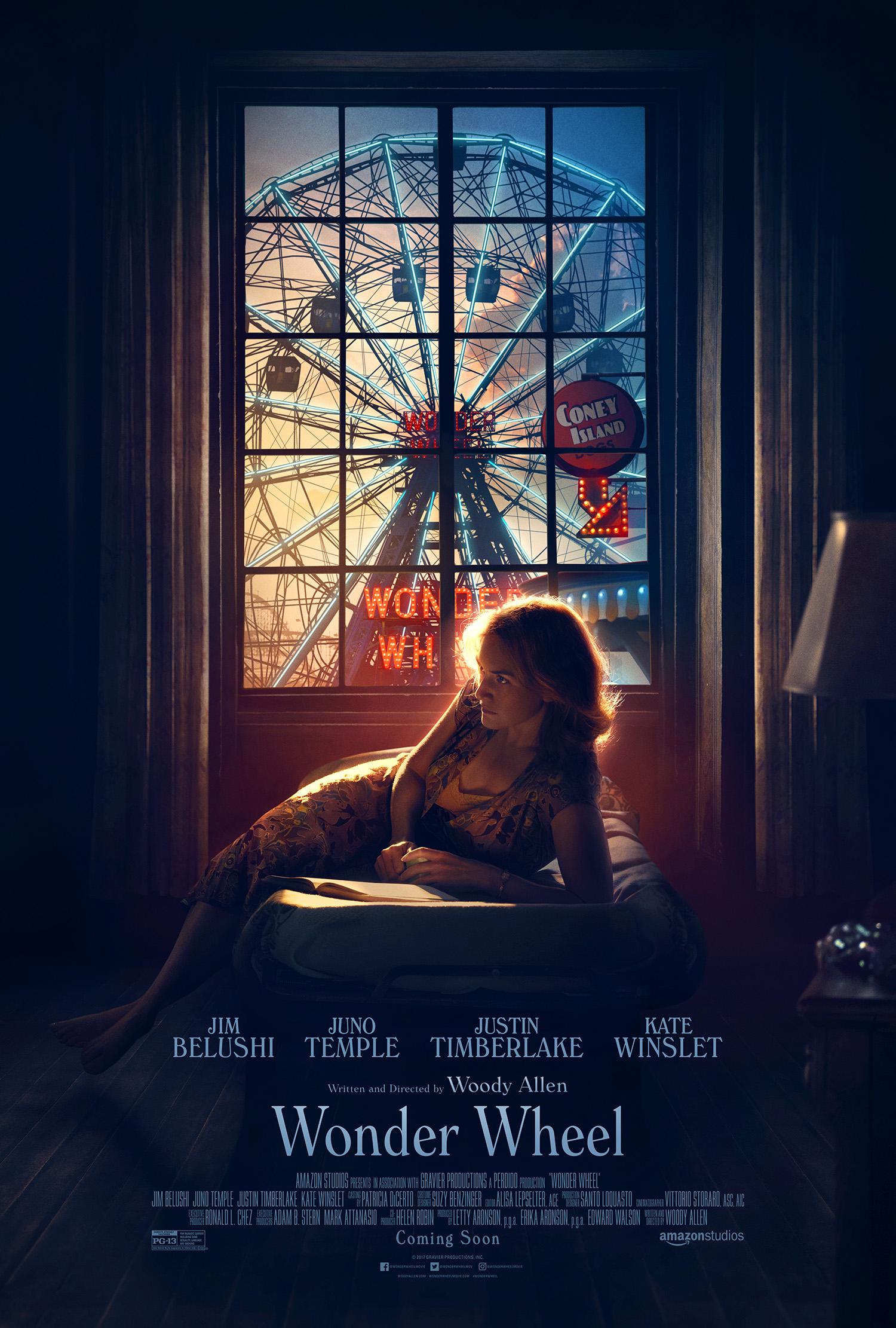 """Woody Allen va presentar """"Wonder Wheel"""" en el Festival de Cine de Nueva York"""