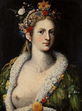 Arcimboldo viajó por Europa mostrando su sentido desenfadado con respecto al retrato