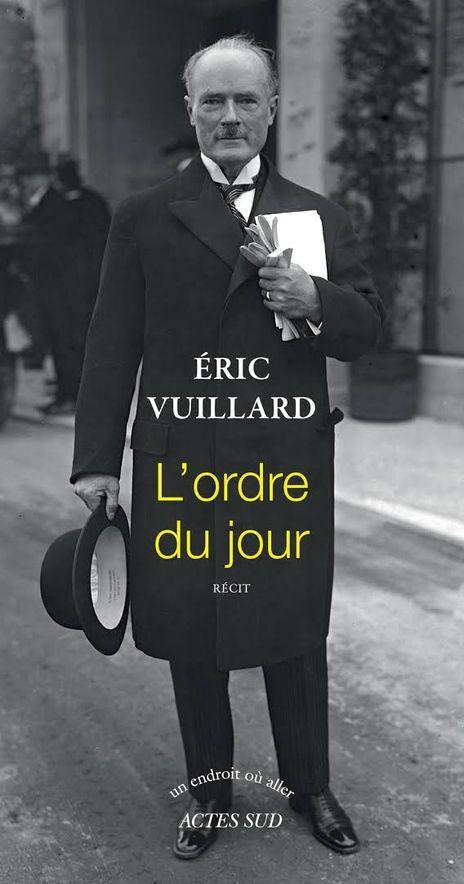 Éric Vuillard ha construido un contundente relato sobre el asenso político de Adolf Hitler